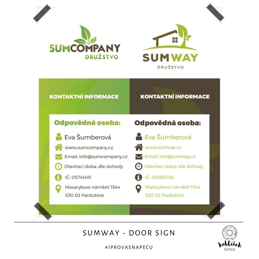 Cedule SumWay Návrh