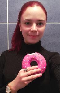 Karolína Koblížková Donut Ilustrace Koblížek