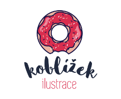 Logo Ilustrace Koblížek