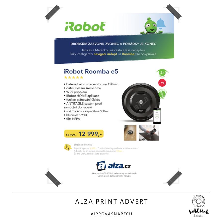 Tištěná reklama Alza.cz Návrh